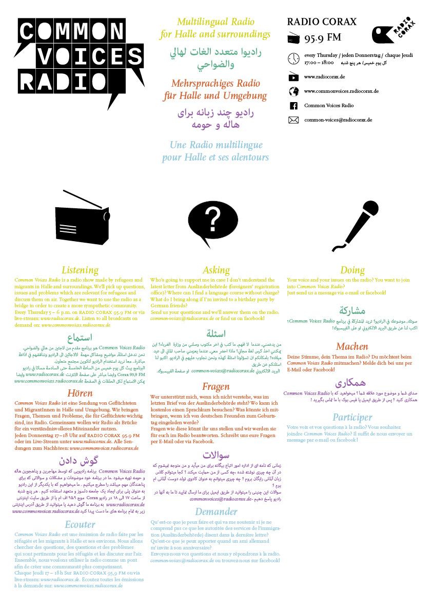 Common Voices Radio Werbung 2