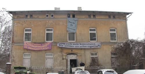 Anschläge auf die Hasi – das Projekthaus in der Hafenstraße 7 erhält Drohungen